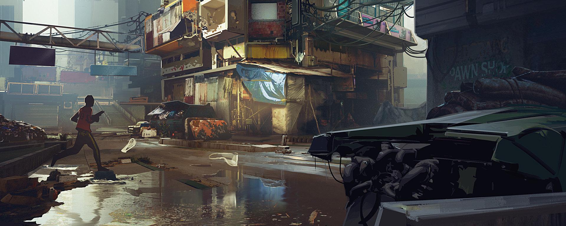 """《赛博朋克2077》""""太平洲""""地区 介绍和概念图"""