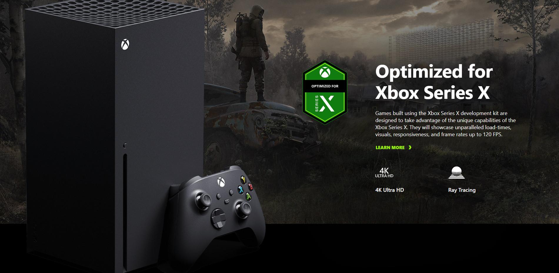 《潜行者2》在Xbox Series X上将支持4K和光追