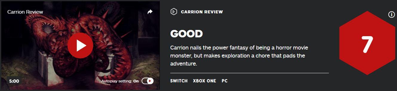 《红怪》IGN 7分:扮演怪物的玩法很棒但没有地图