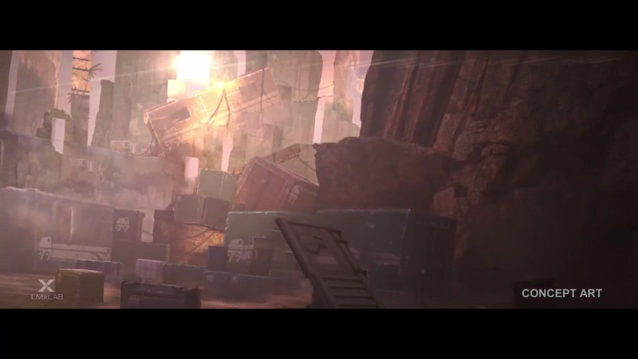 《星球大战:银河边际传说》VR游戏预告片