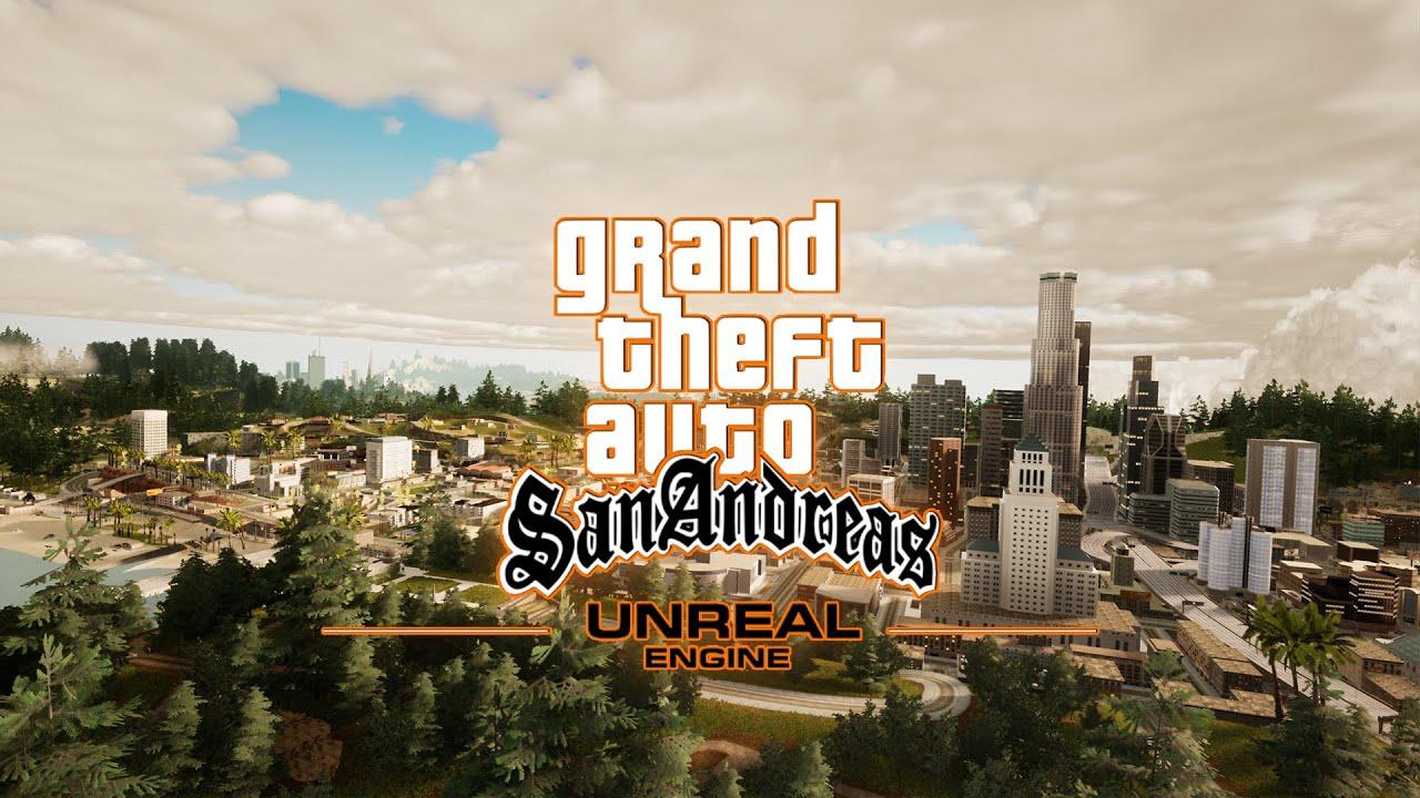 虚幻4重制《GTA:圣安地列斯》对比原版 画面进化