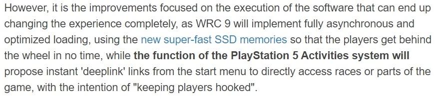 PS5可允许你直接进入游戏特定部分 而不需要先启动游戏