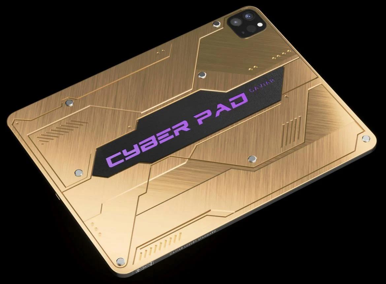 赛博朋克风iPad Pro曝光 限量99台 售价5万多元