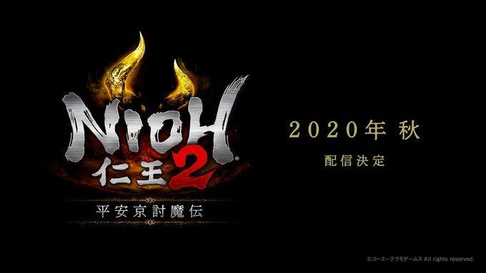 """《仁王2》DLC第二弹""""平安京讨魔传""""今年秋季发布"""