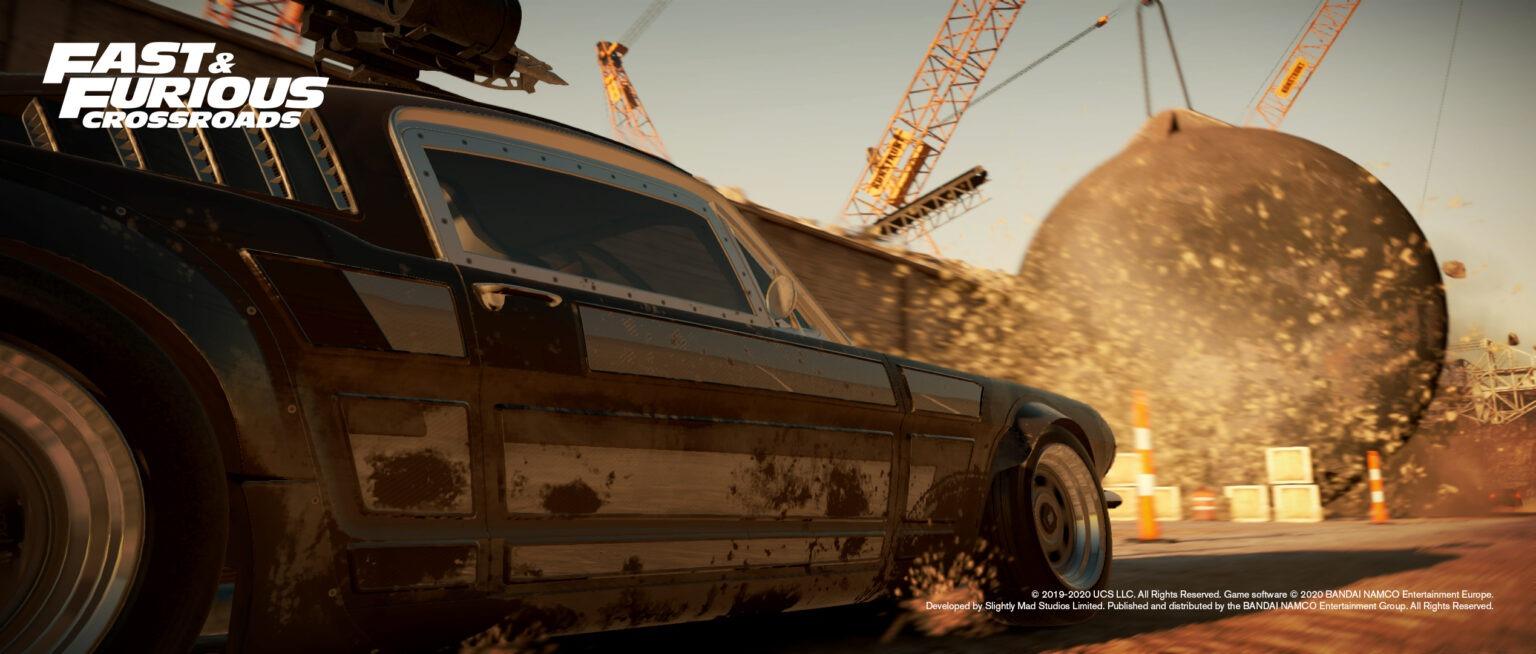 《速度与激情:十字路口》首日补丁高达38.5GB