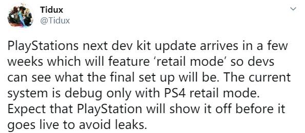 传索尼很快将公布PS5主机的UI界面