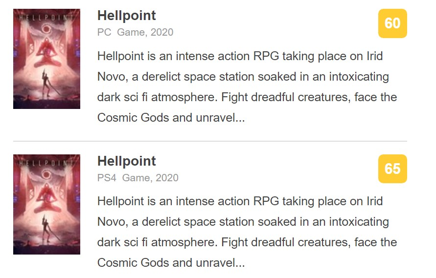 科幻魂类ARPG《地狱时刻》IGN 6分:BUG多 没创意