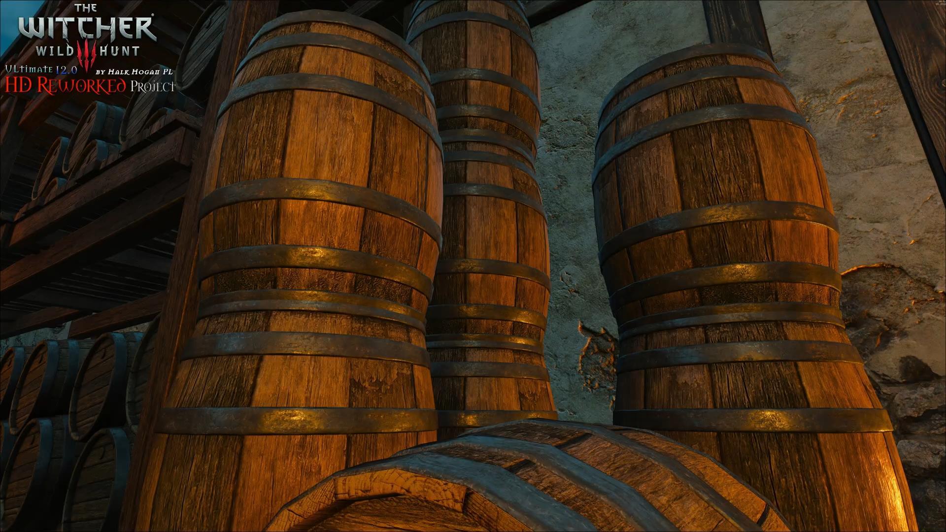 《巫师3》高清Mod V12版与原版对比 画面更惊艳