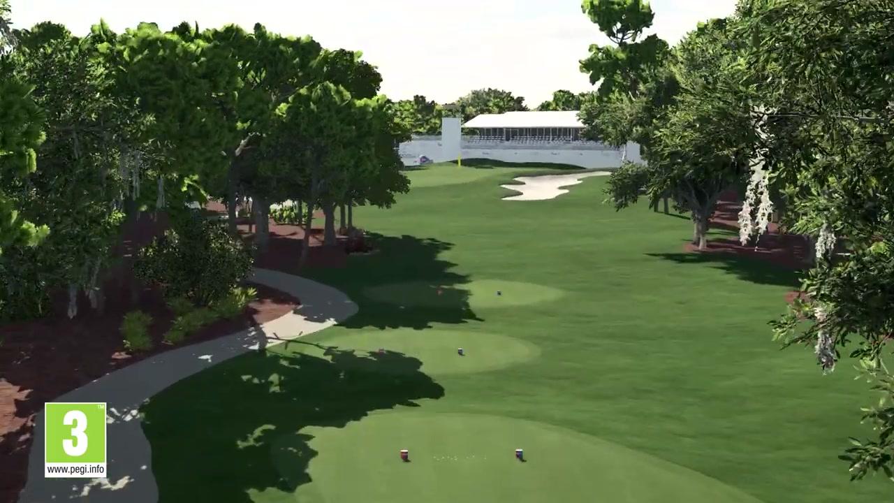 真实高尔夫 《PGA巡回赛2K21》将采用球场扫描技术