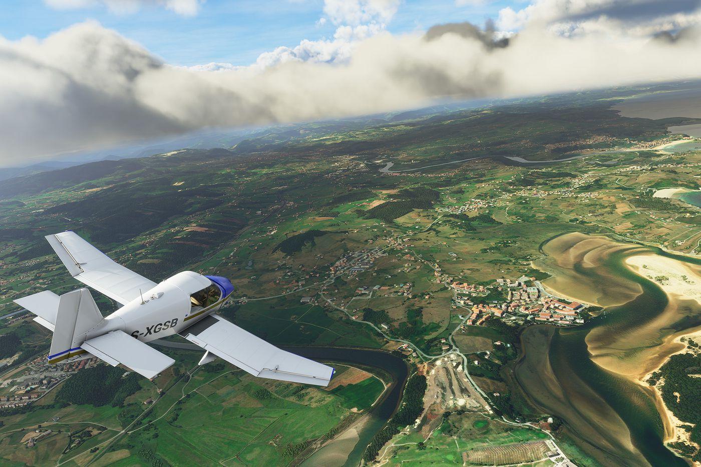《微软飞行模拟》4K测试:2080Ti只能跑30-40帧