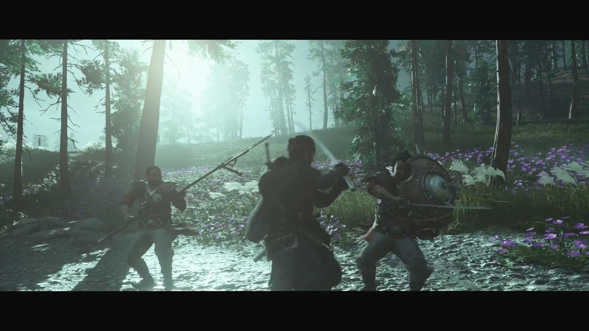 《对马岛之鬼》日本媒体赞誉宣传片发布