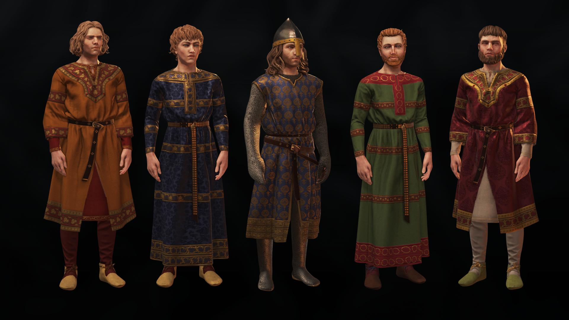 《十字军之王3》开发日志:附庸契约、角色肖像介绍