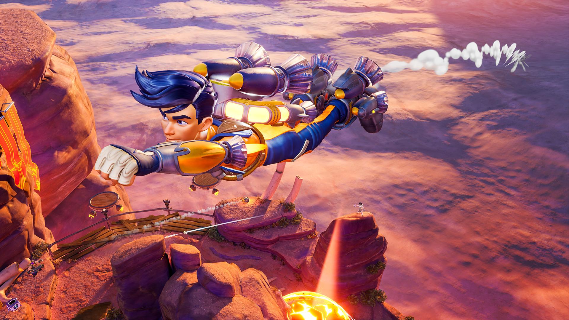 3V3射击游戏《火箭竞技场》开启免费试玩 8月3日截止