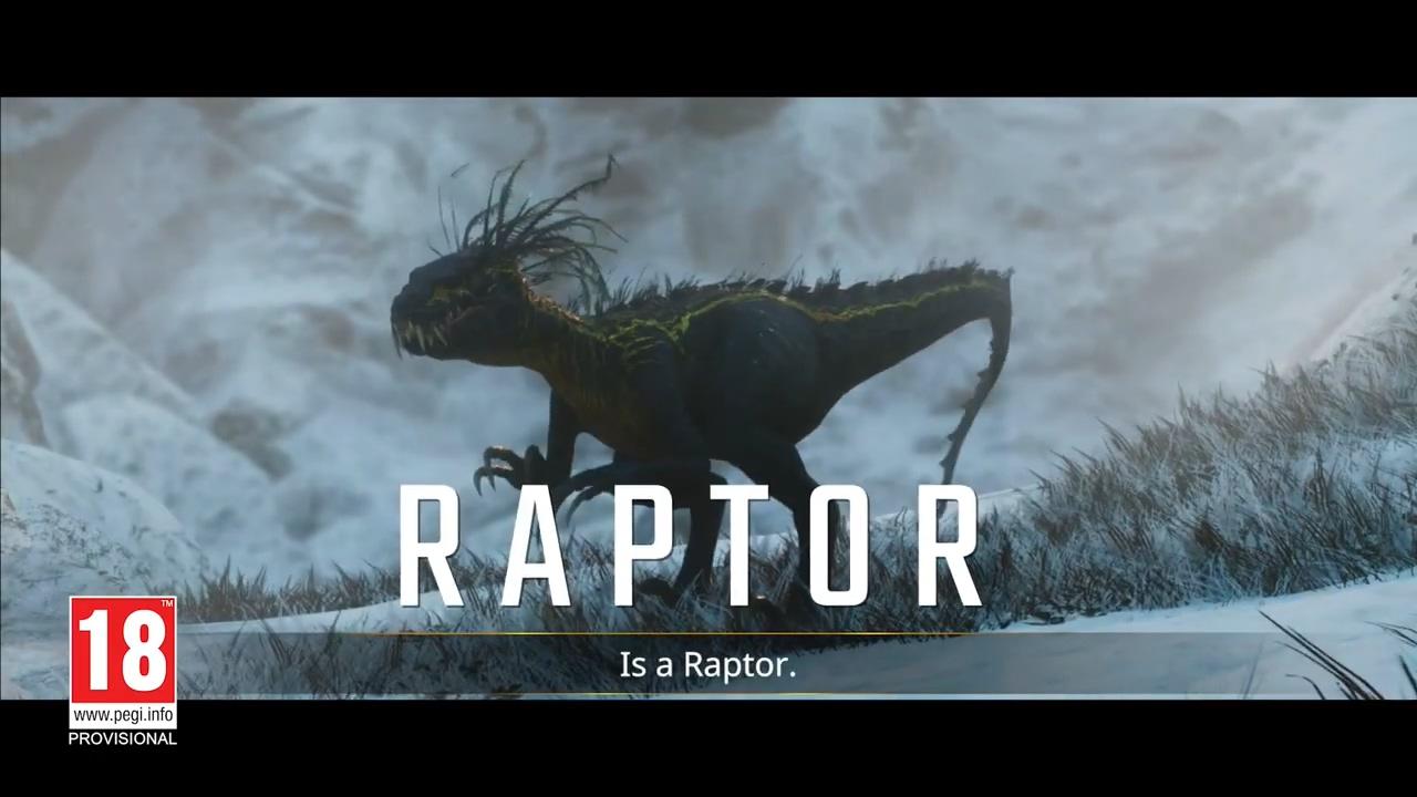《二次灭绝》全新预告 展示游戏中的迅猛龙