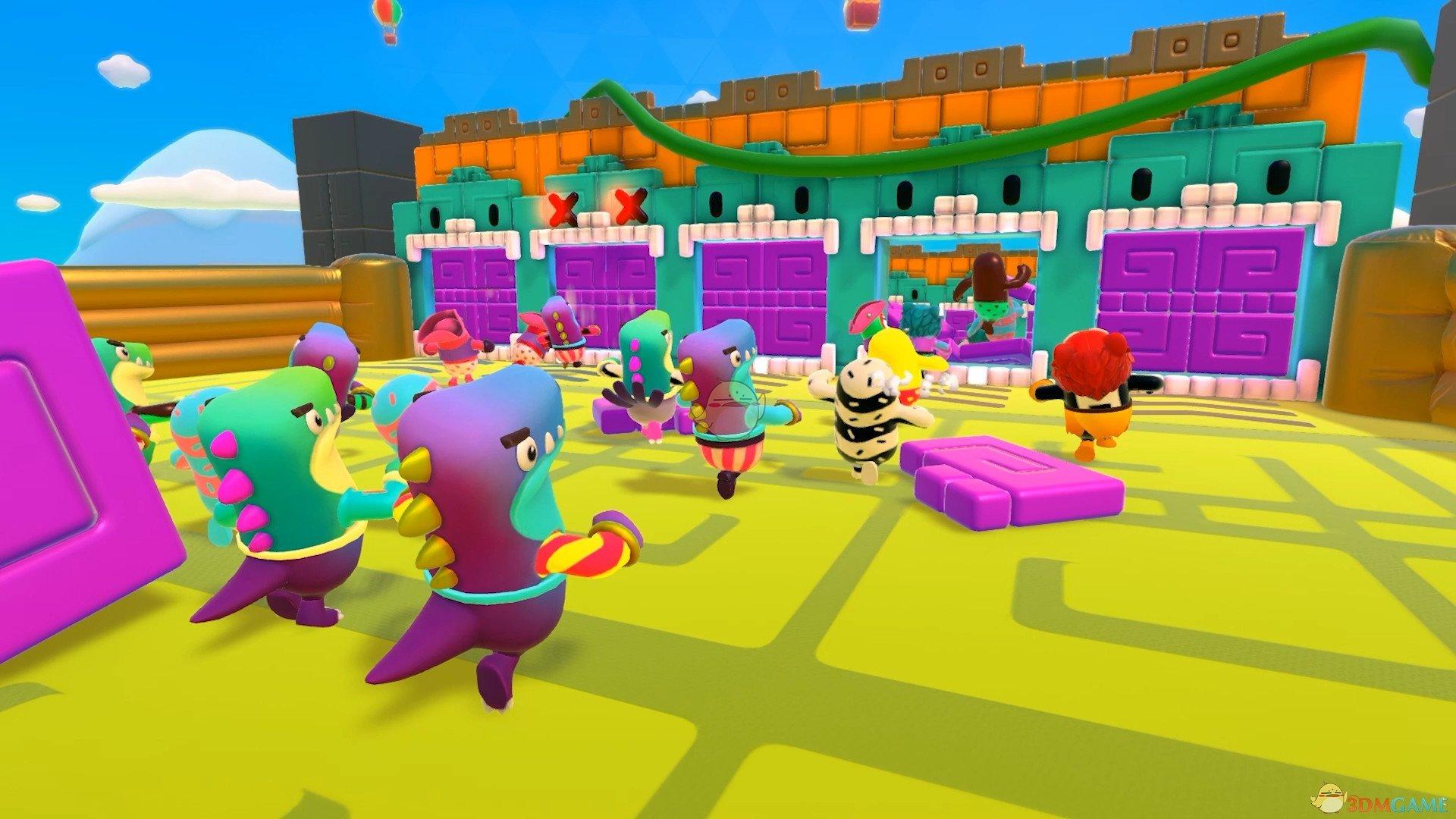 《糖豆人:终极淘汰赛》游戏特色内容一览