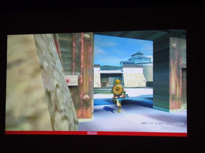 任天堂曾用日本第一名城测试《塞尔达传说:旷野之息》