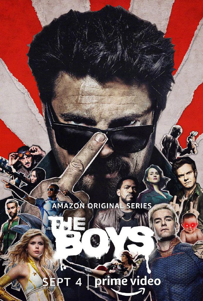 《黑袍纠察队》第二季正式预告+海报 9月4日播出