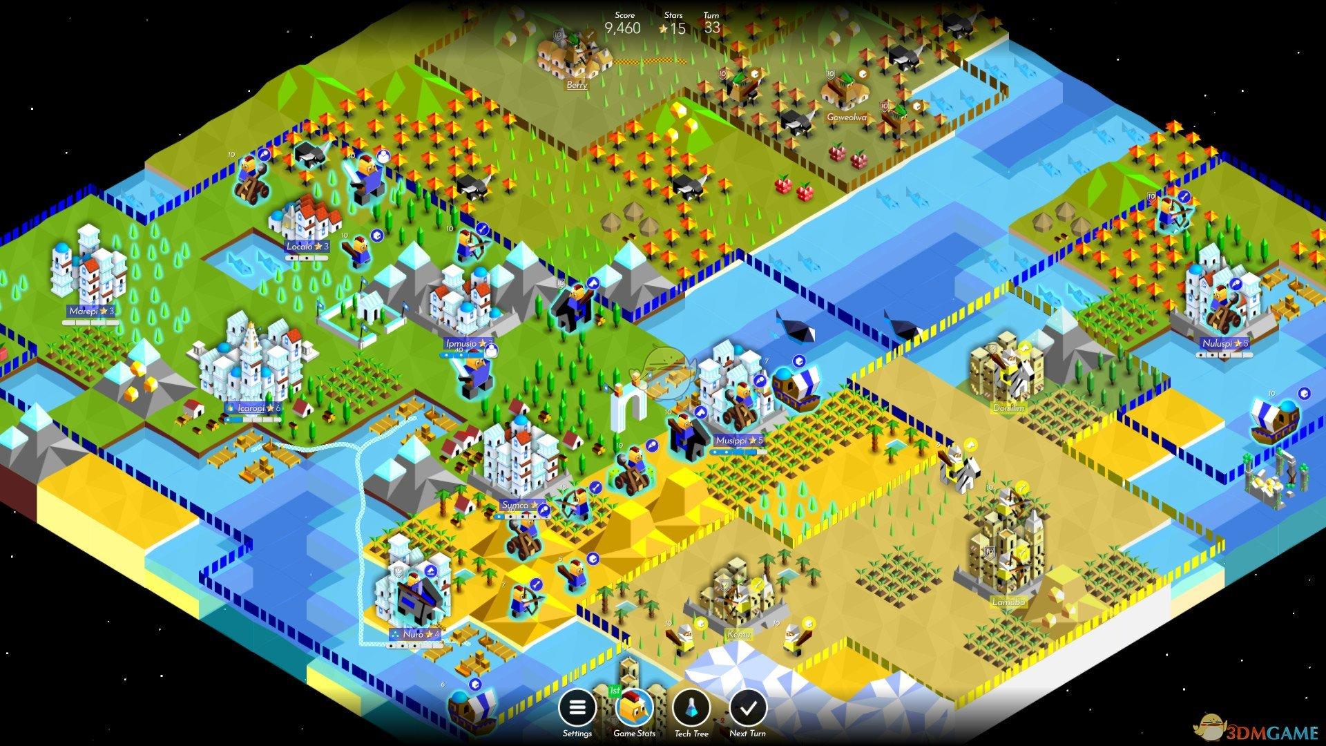 《The Battle of Polytopia》游戏特色内容一览
