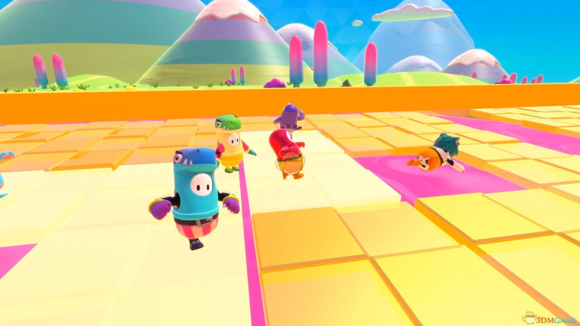 《糖豆人:终极淘汰赛》组队模式介绍