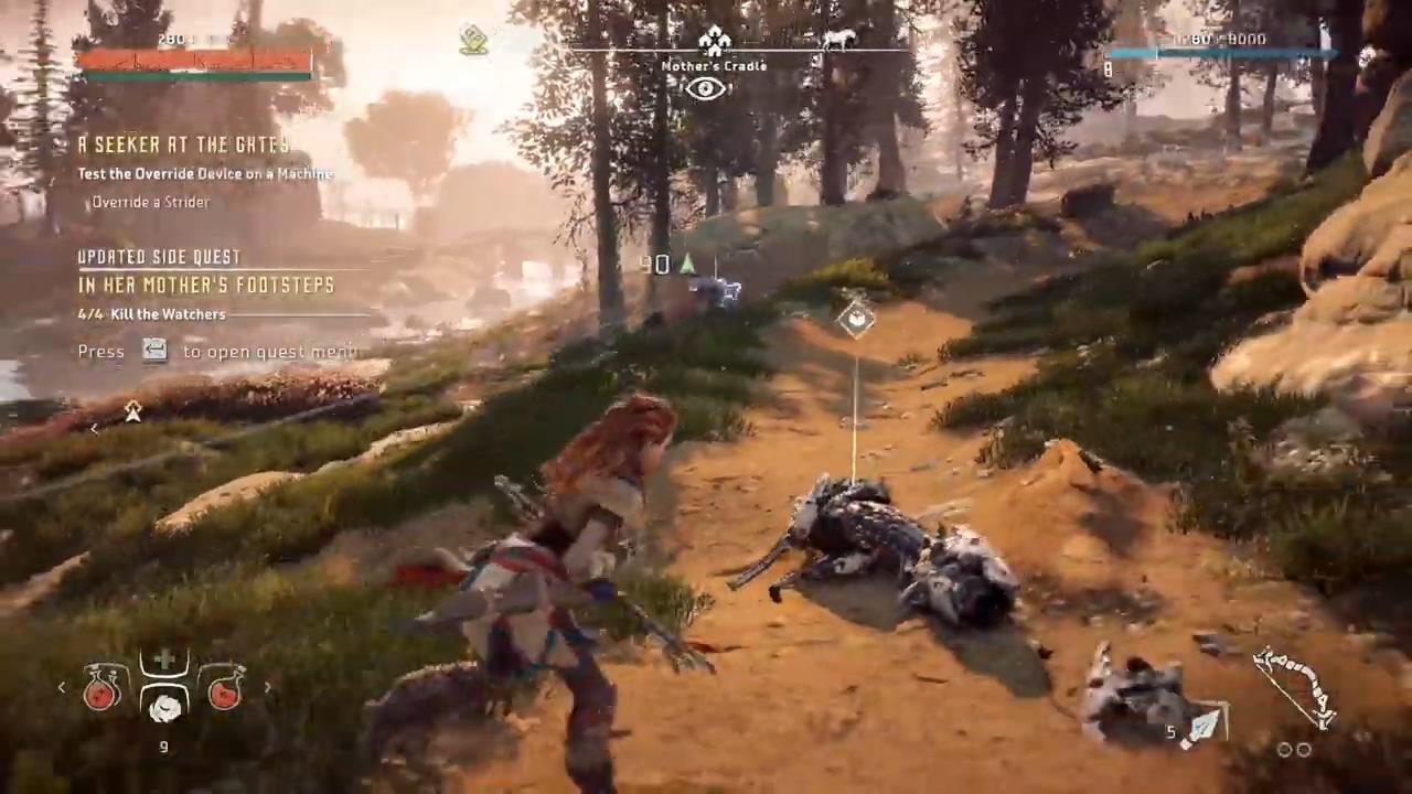 《地平线:黎明时分》某些PC会卡顿 22分钟演示公开