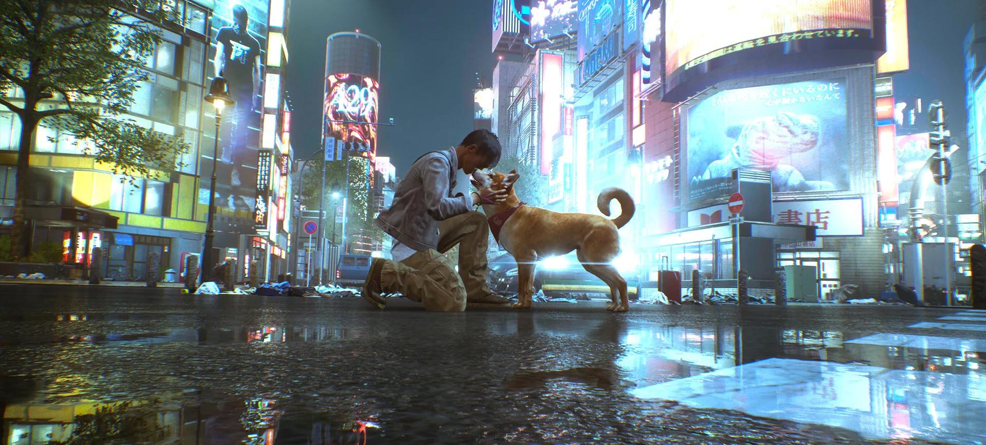 《幽灵线:东京》新预告 你可以抚摸每一只狗狗