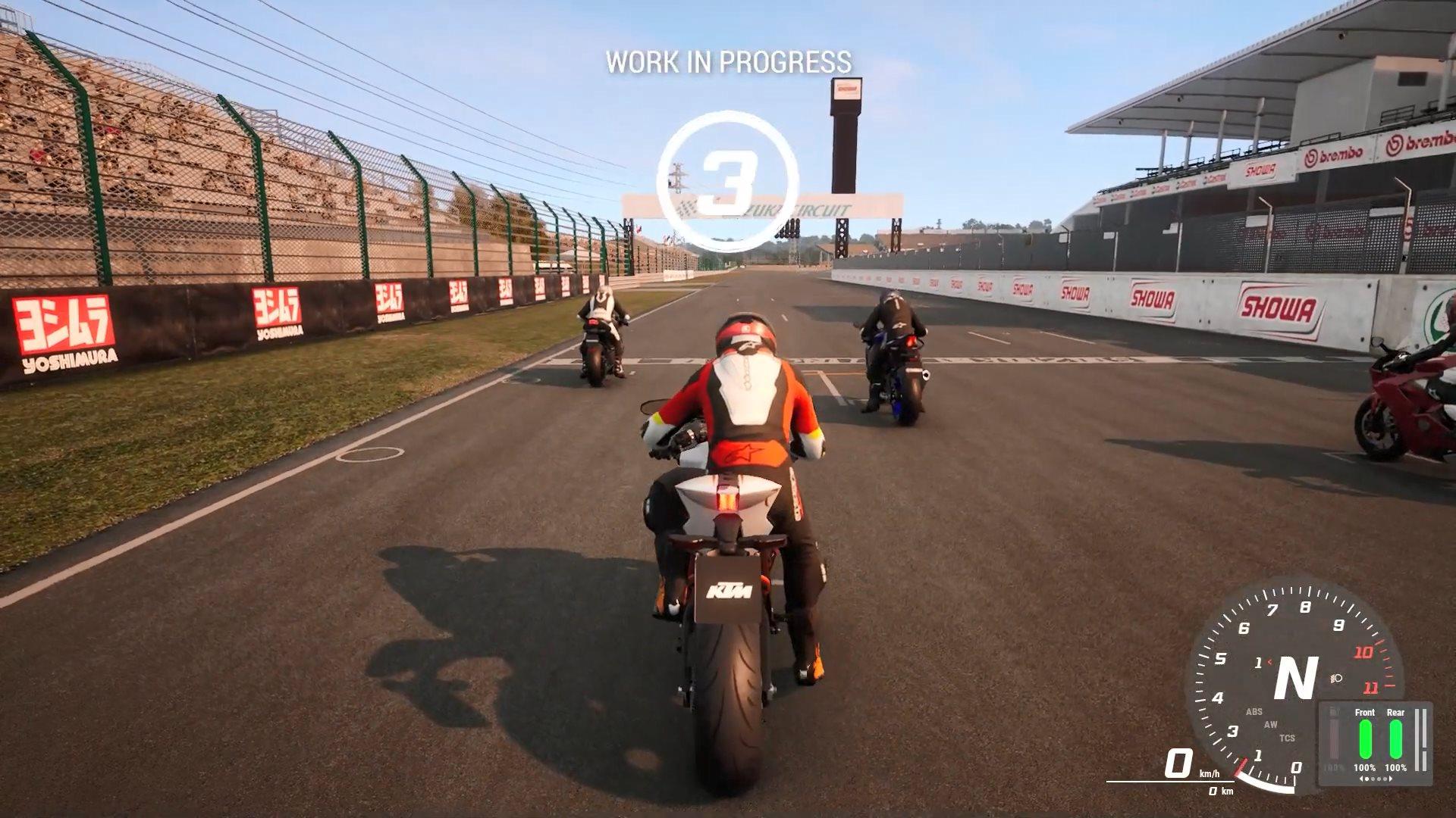 《极速骑行4》释出官方实机预告 高拟真度摩托竞速