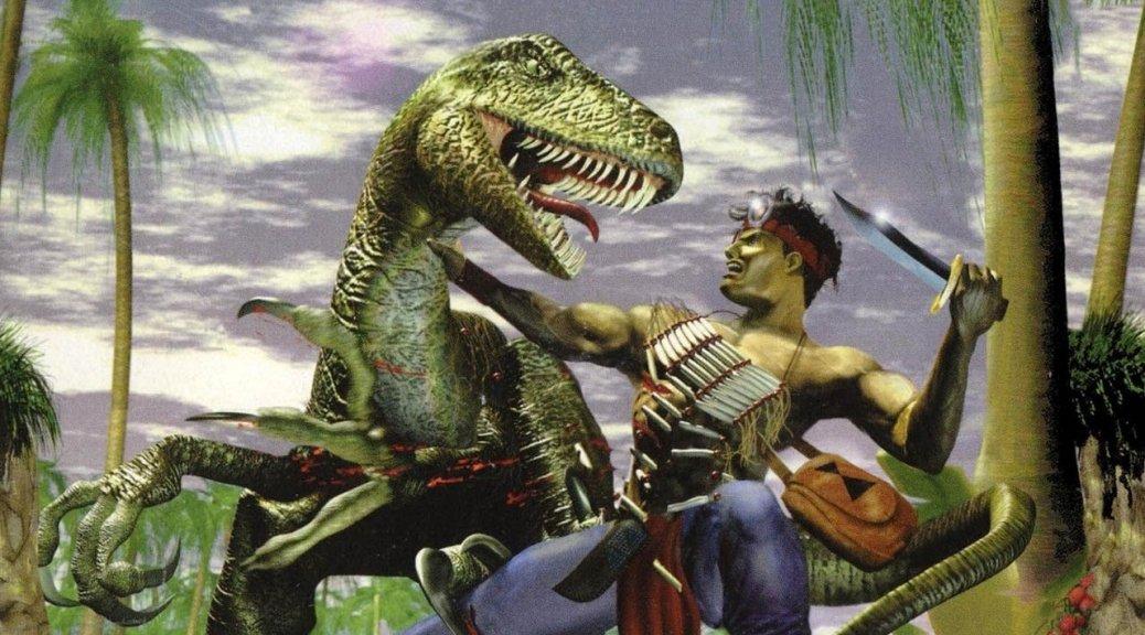 废案曝光:2004年未能立项的《恐龙猎人5:复活》