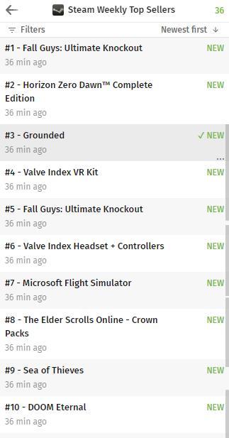Steam周销量榜更新《糖豆人:终极淘汰赛》登顶