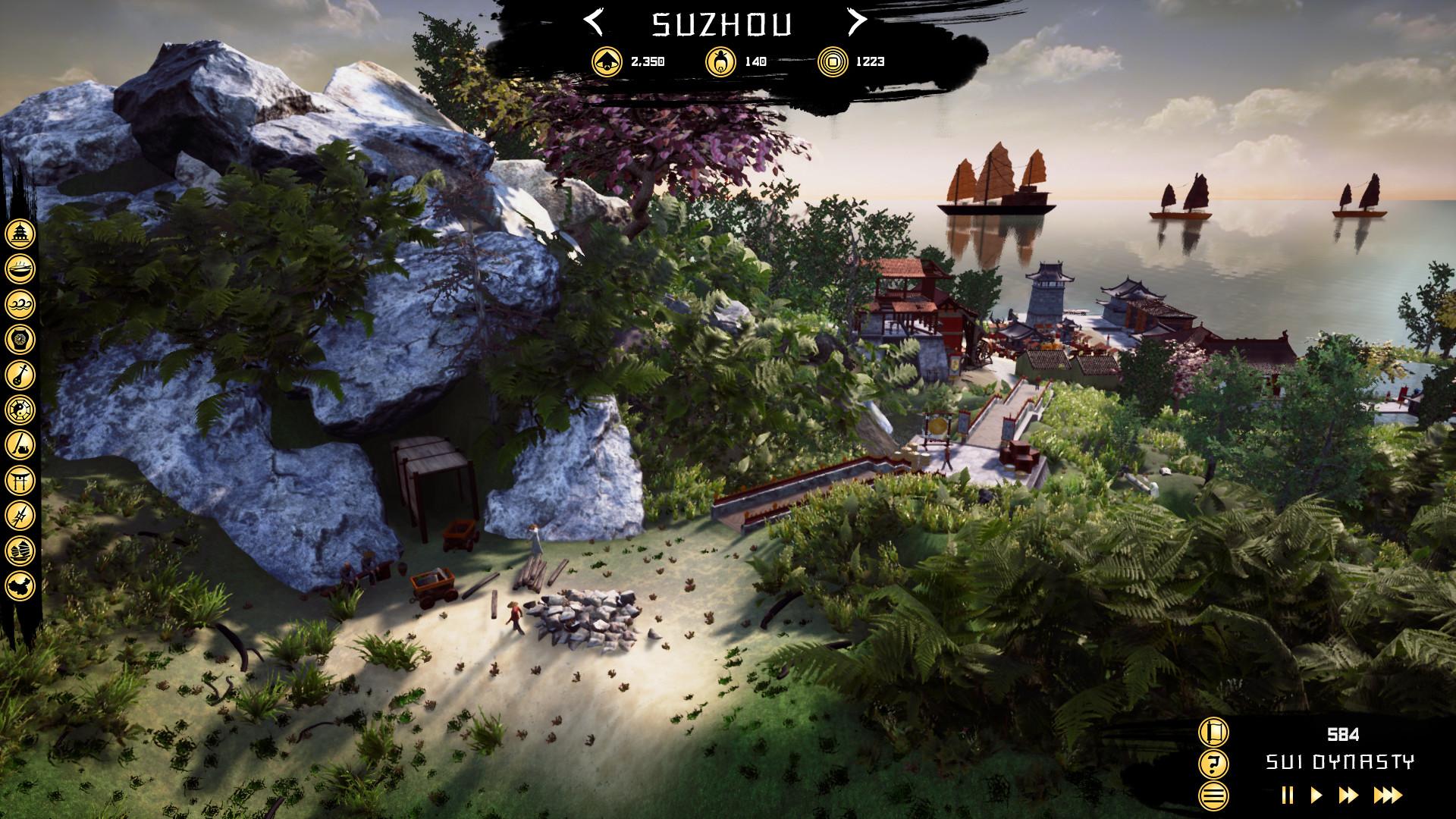 城市建造策略游戏《中国建设者》上架Steam 支持简中