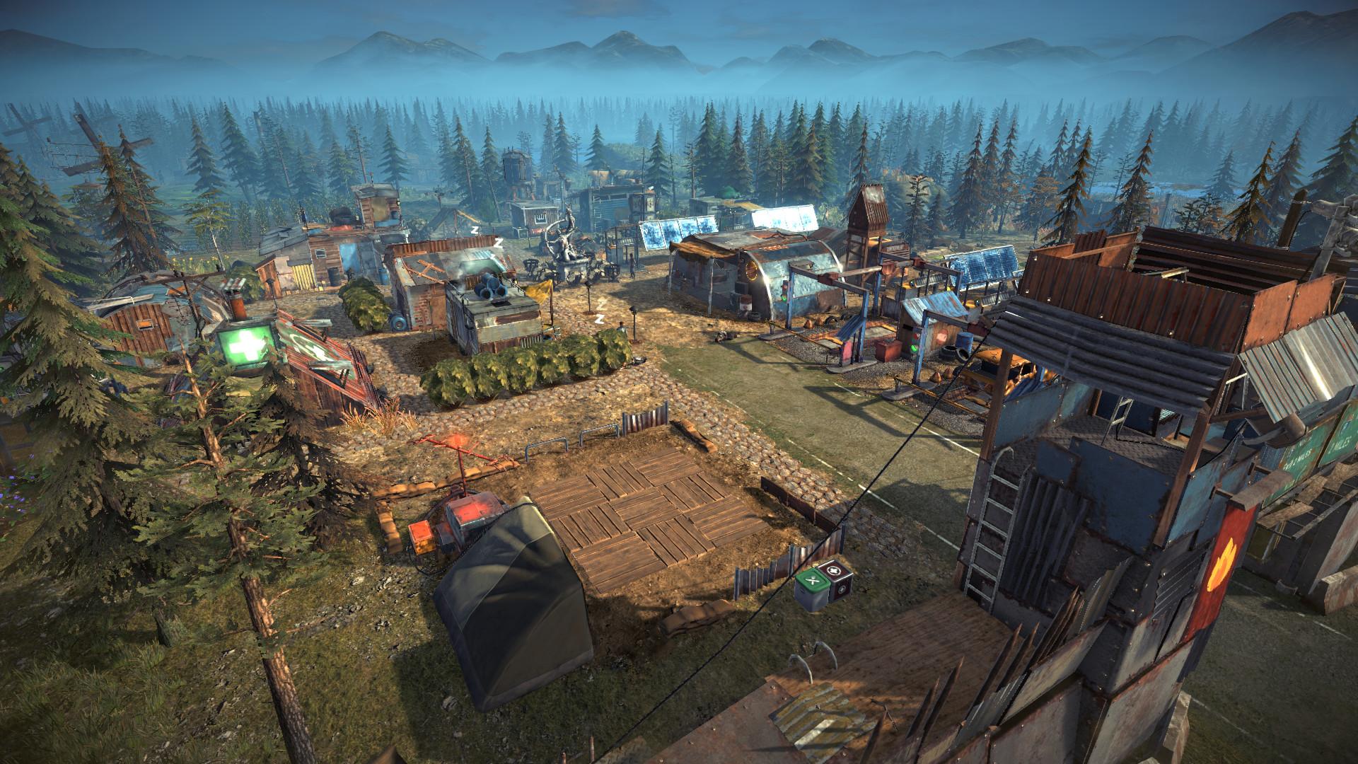 《末日求生》早期游戏阶段演示前瞻 基地、牧场建设