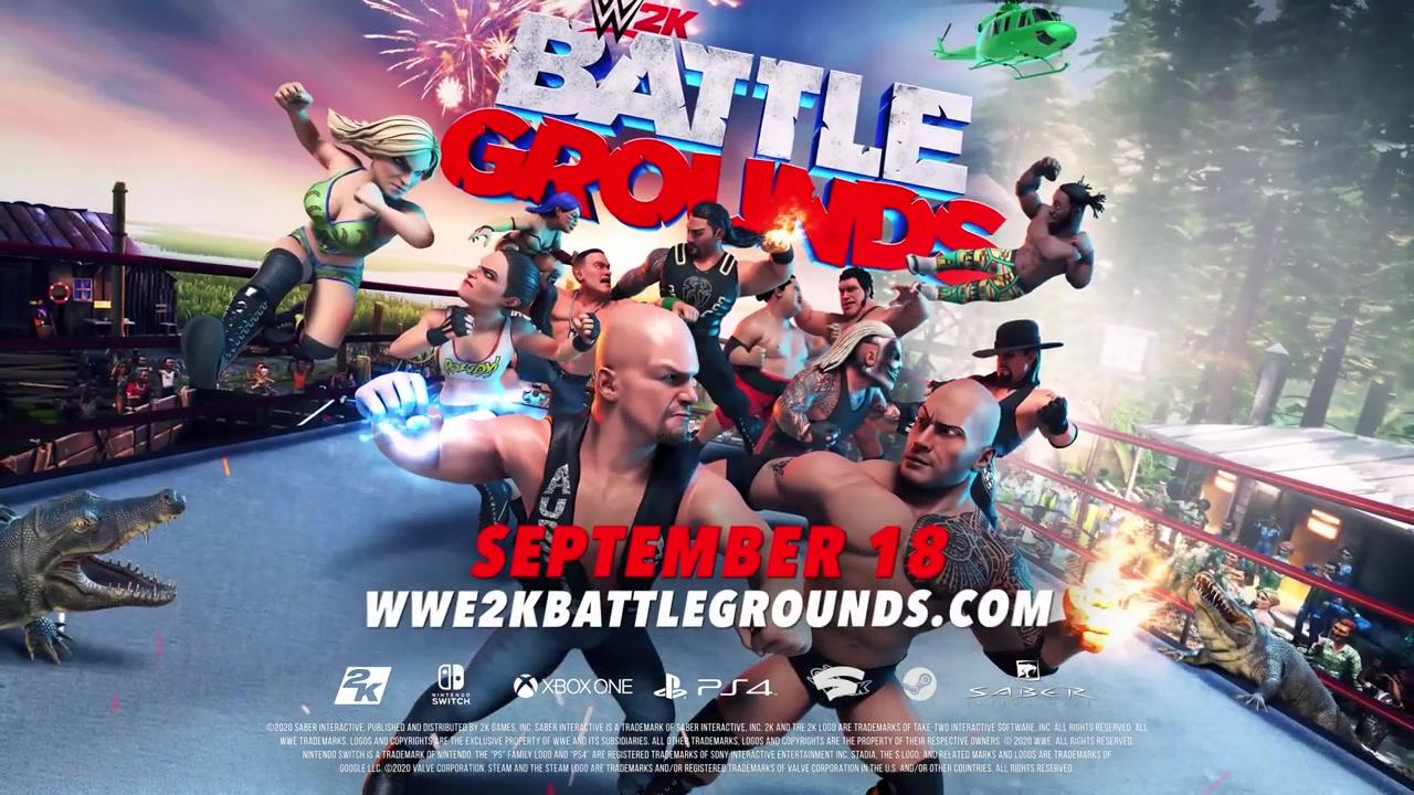"《WWE 2K竞技场》""游戏模式""预告片公布"