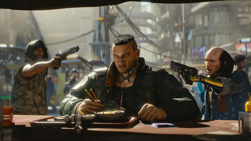 《赛博朋克2077》相比《巫师3》有更深入的RPG体验