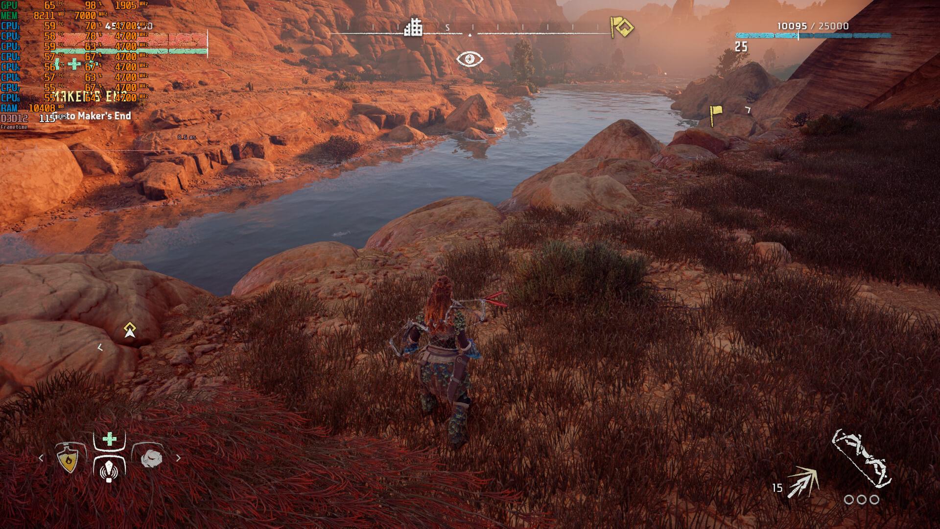 《地平线:黎明时分》PC版4K分辨率下屏幕空间反射有Bug