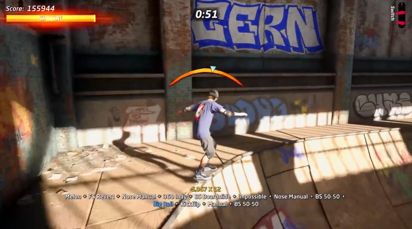 《托尼霍克职业滑板1+2合集》实机演示 9月4日发售