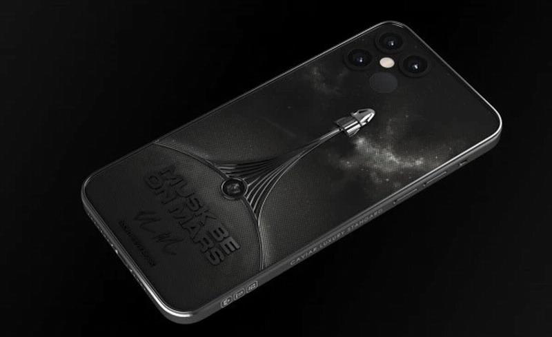 国外奢侈品牌受马斯克SpaceX启发 打造限量版iPhone12