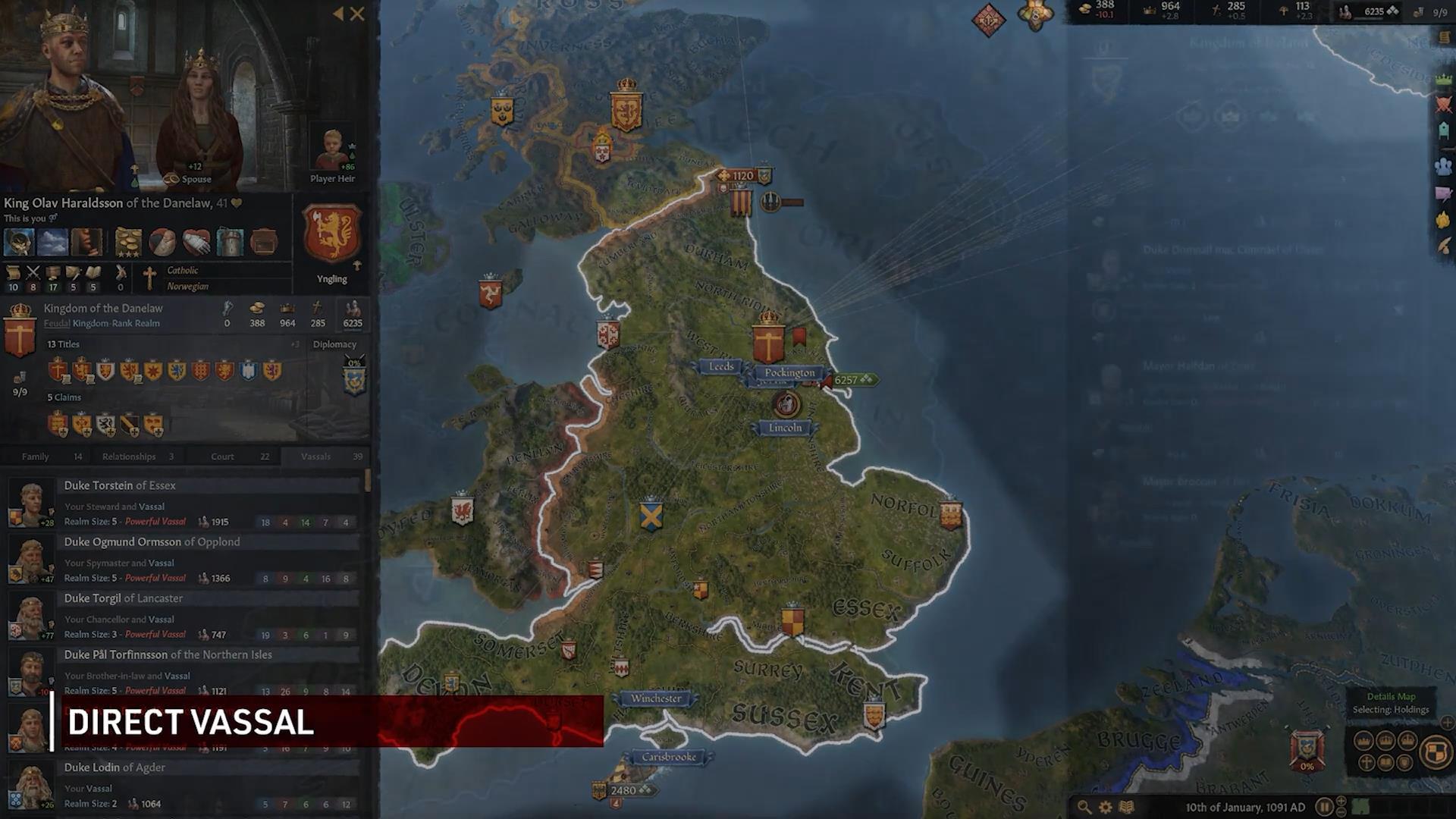 《十字军之王3》新预告 展示封臣机制以及战争谋杀等