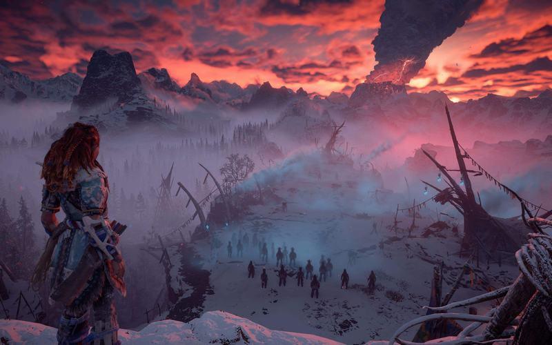 《地平线:黎明时分》冰尘雪野DLC100%完成度攻略 DLC全支线视频攻略