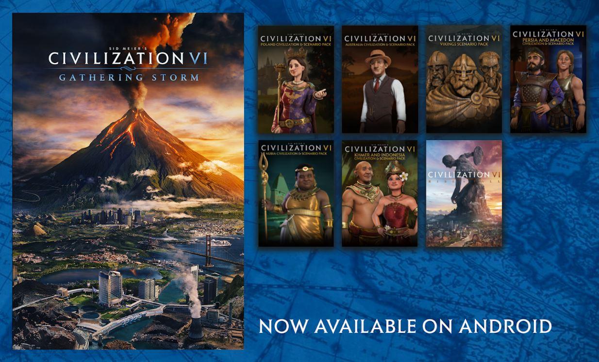 《文明6》安卓版现已正式推出 前60回合免费游玩