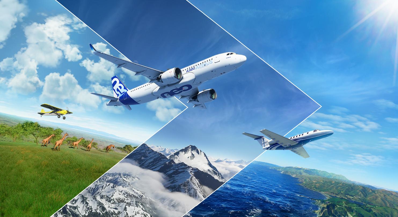 开飞机并不简单 《微软飞行模拟》着陆演示视频公开