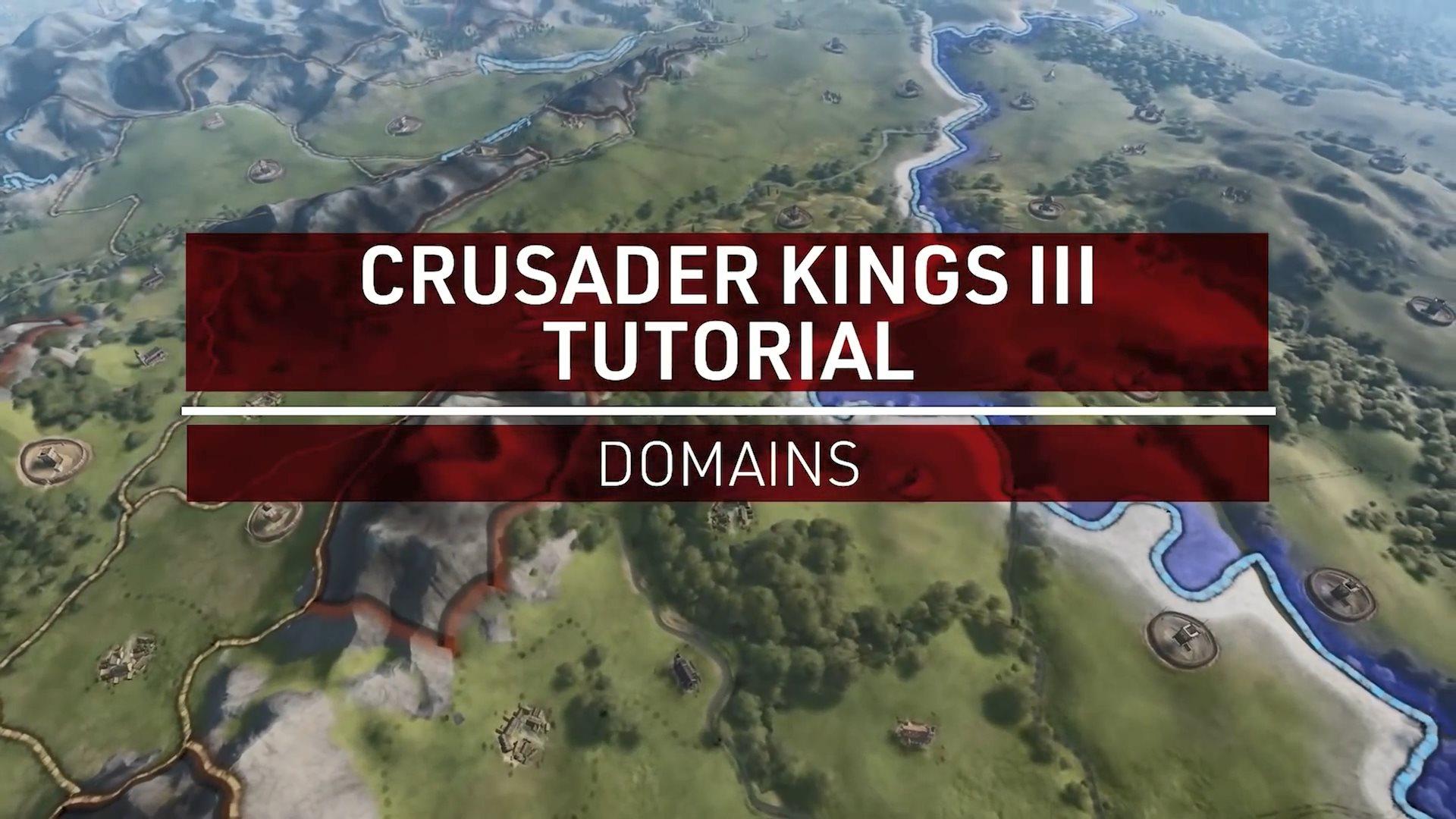 《十字军之王3》领地介绍演示:发展度、掌控度及民意