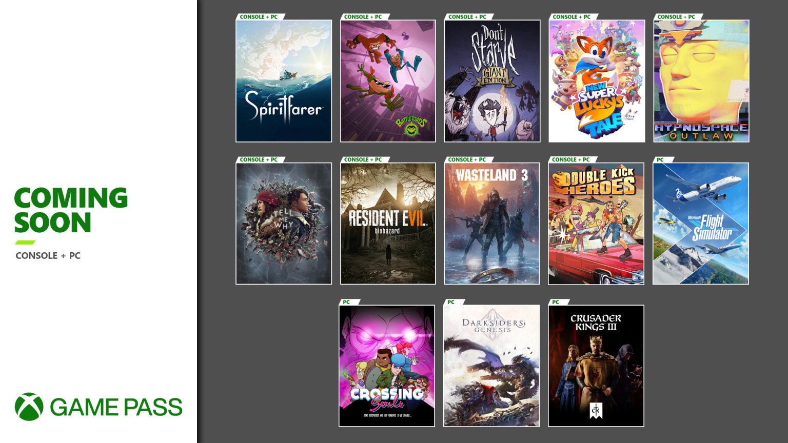 XGP新增游戏公布 《生化危机7》9月3日上线
