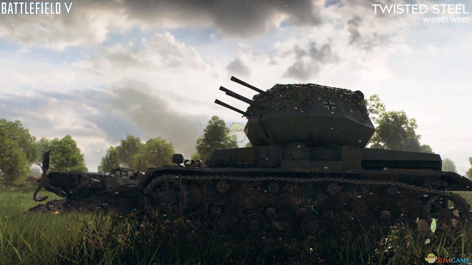 《战地5》虎式坦克修复小技巧分享