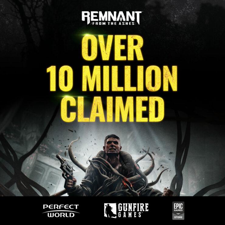 《遗迹:灰烬重生》Epic上被免费领取超1000万次