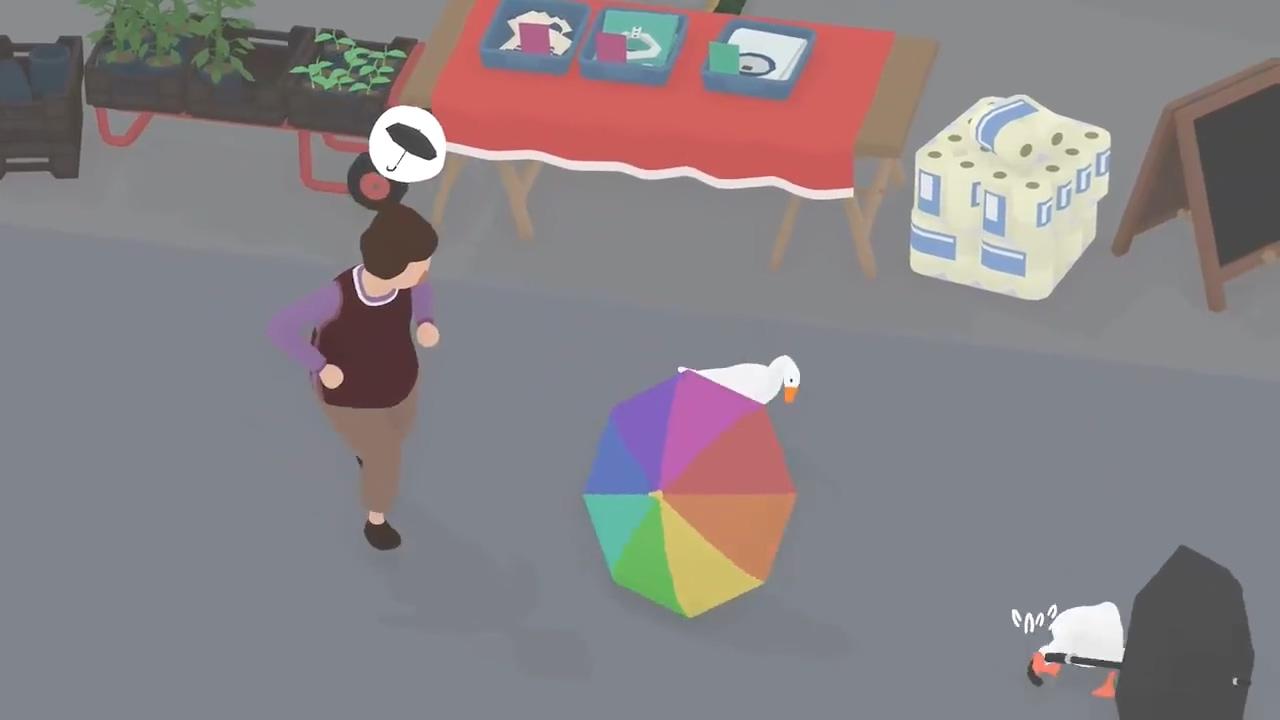 《捣蛋鹅》Switch实体版不含多人模式 玩家需自主更新