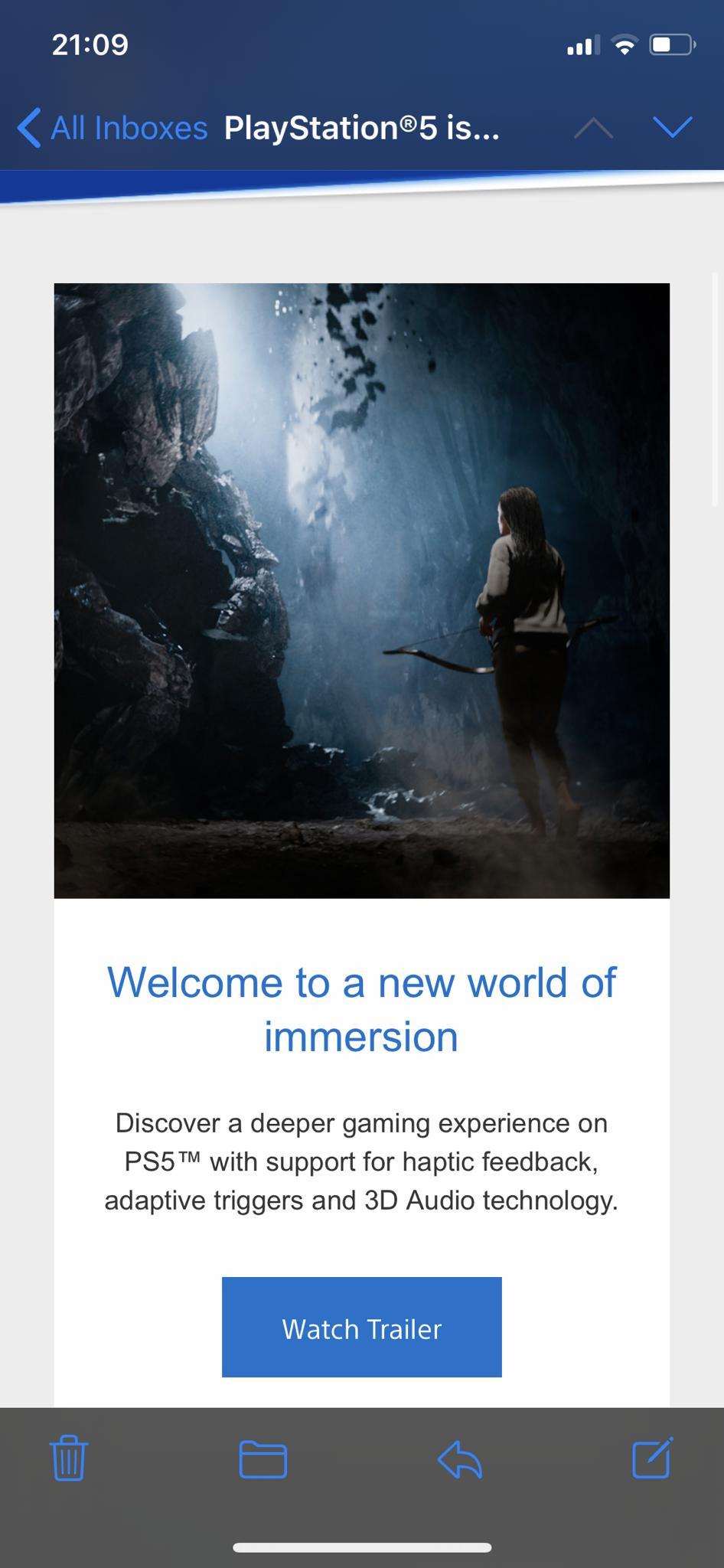 索尼发布PS5推广邮件 次世代主机大战悄然升级