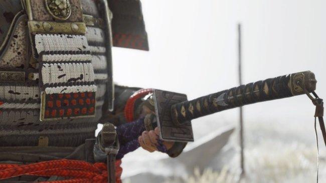 高玩改装武士刀手柄 适配《对马岛之鬼》玩法