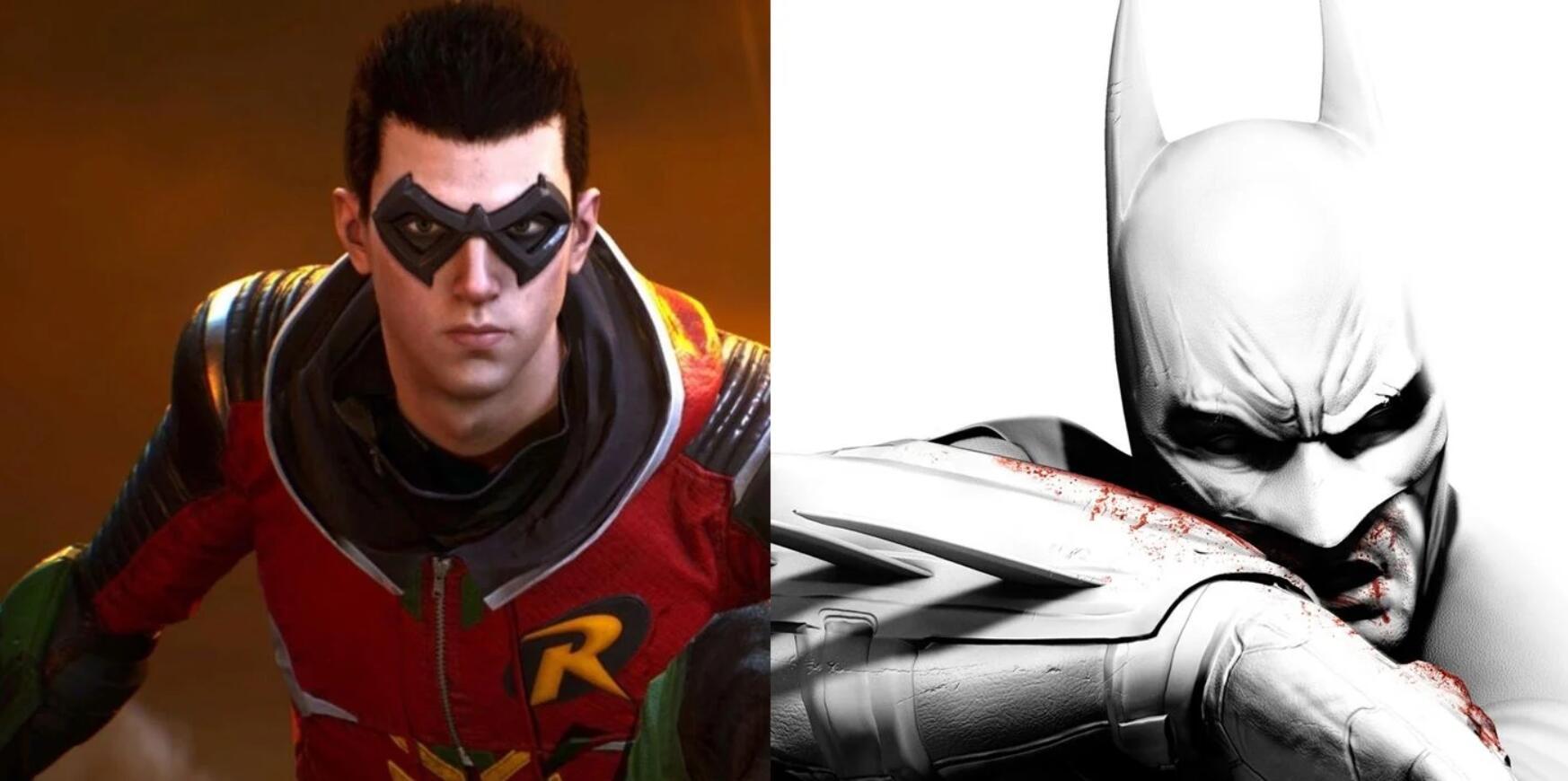 《哥谭骑士》与《蝙蝠侠:阿卡姆》系列不存在关联