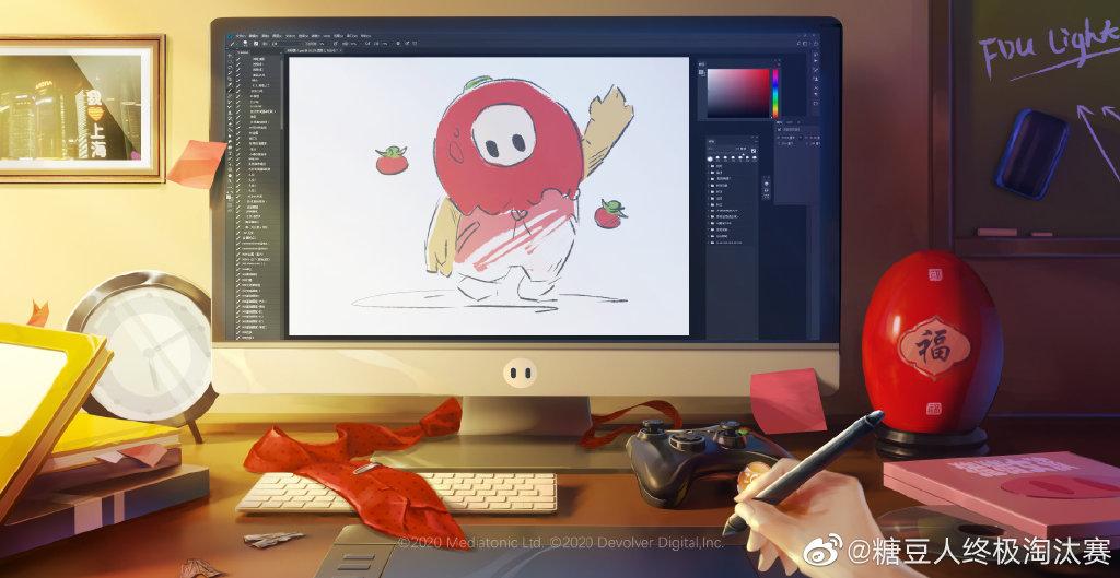 《糖豆人:终极淘汰赛》将推出B站UP主定制皮肤