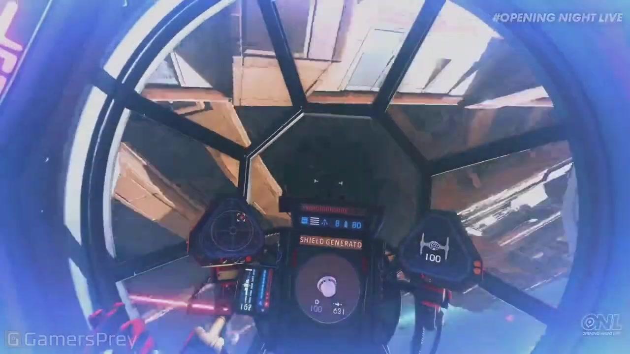 科隆游戏展:《星球大战:战机中队》新实机演示