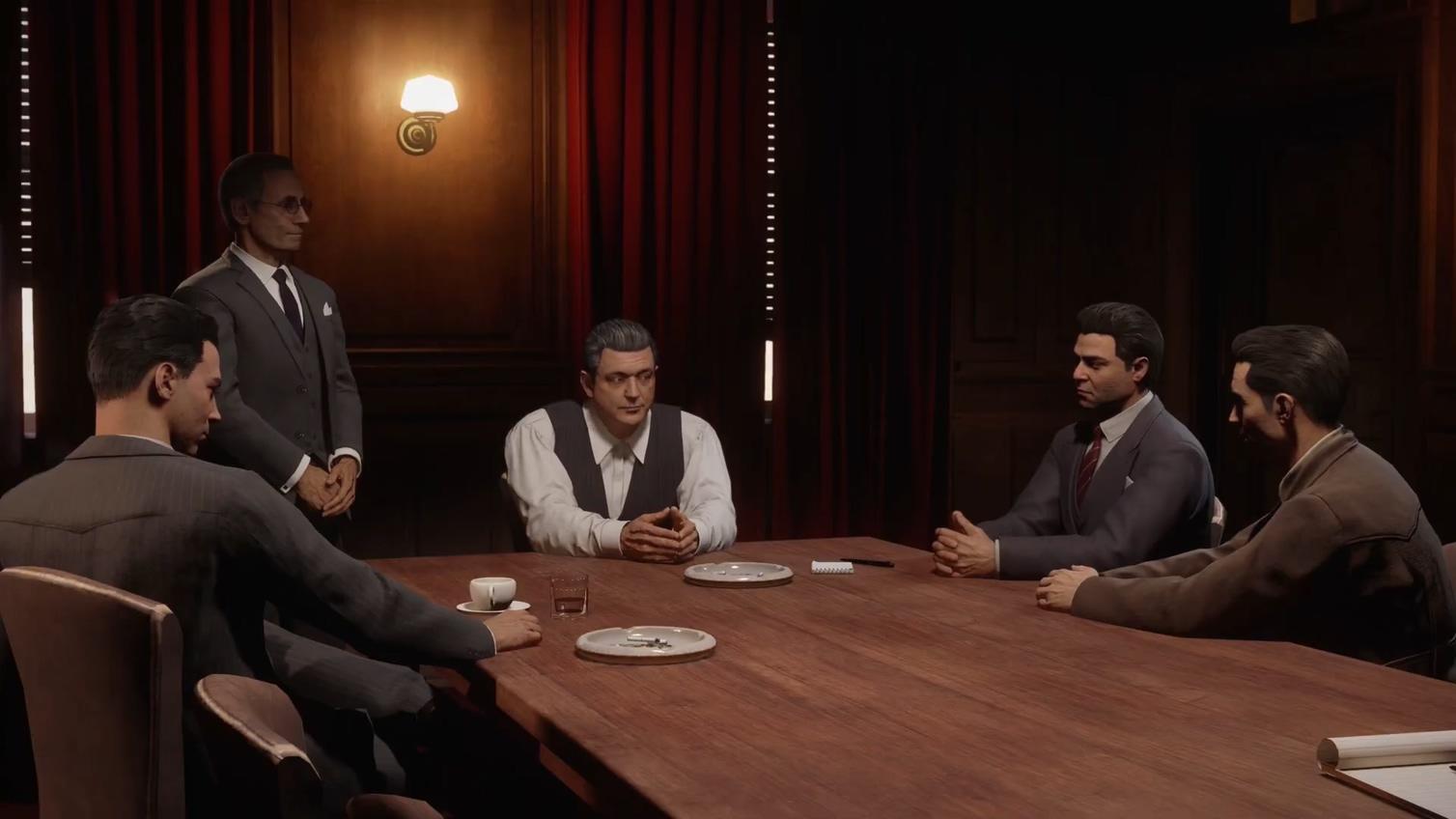 科隆游戏展:《四海兄弟:最终版》游戏剧情宣传片